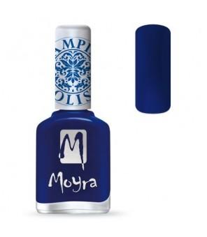 Moyra Vernis spécial plaque stamping SP 05, Bleu