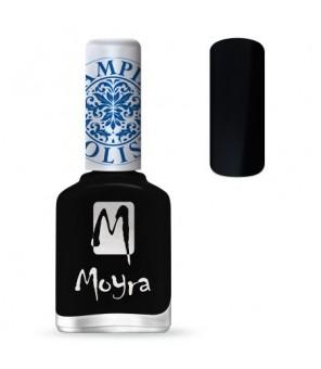 Moyra Vernis Spécial plaque stamping SP 06, Noir