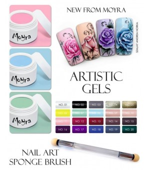 Lot artistic gel 14 couleurs
