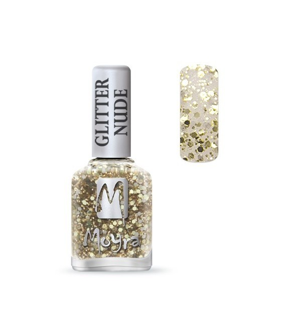 Glitter Nude collection n°391 Silver