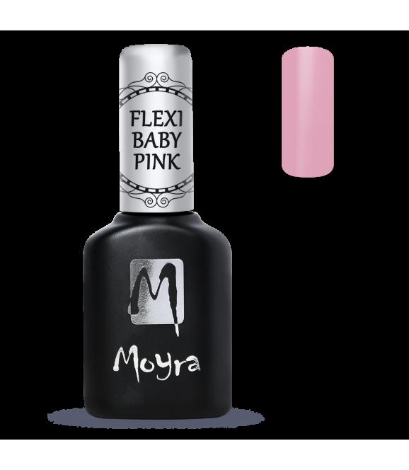 Gel flexible de couleur rose spécial baby boomer