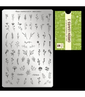 de nombreux motifs de fleurs, de branches pour réaliser des nails art tendances