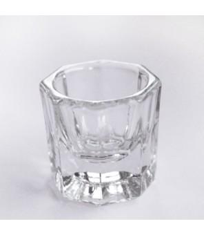 Pot en verre pour le monomère